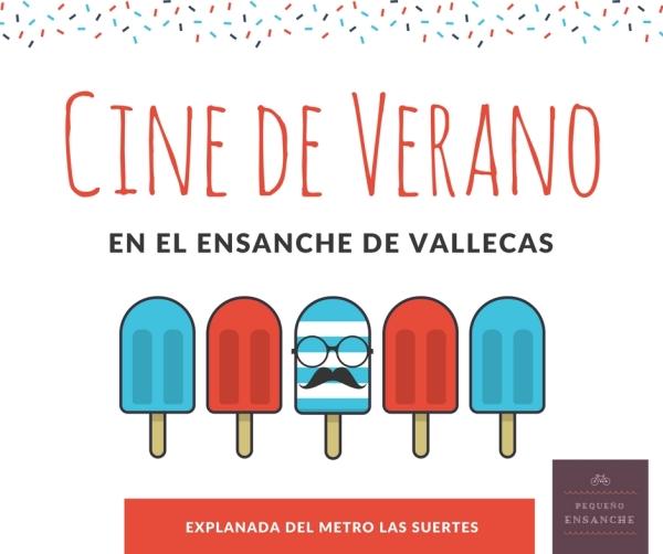 Cine de verano en el ensanche de vallecas 14 de julio - Ensanche de vallecas ...