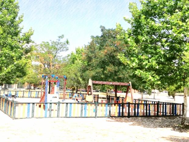 Parque infantil Ensanche de Vallecas