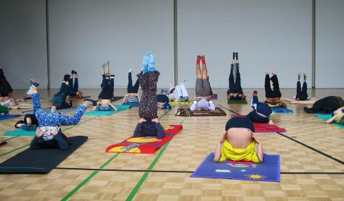 Yoga niós Ilona
